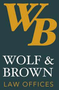 Wolf and Brown Logo, New Jersey Social Security and Veterans Disability Lawyers