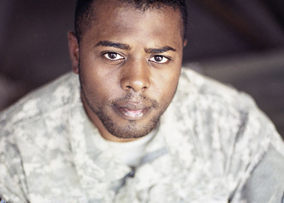 Veteran Looking at Camera - Veterans Disability Lawyers Wolf and Brown